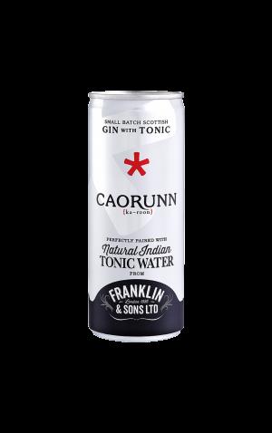 Caorunn Gin & Franklin & Sons Natural Indian Tonic Water