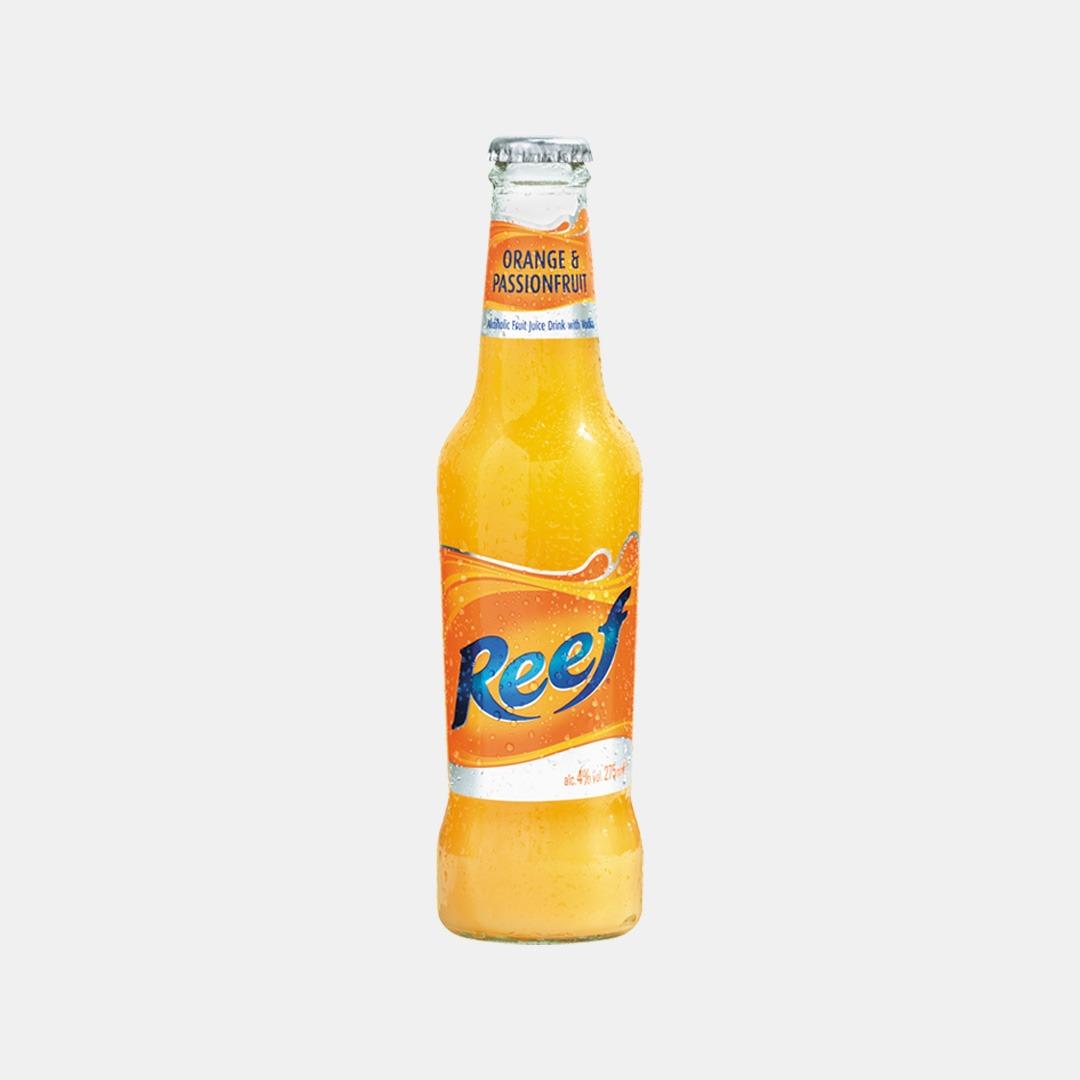 Good Time In   REEF 275ml Orange & Passionfruit