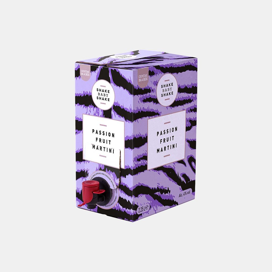 Good Time In | Shake Baby Shake - Passion Fruit Martini Bag in Box