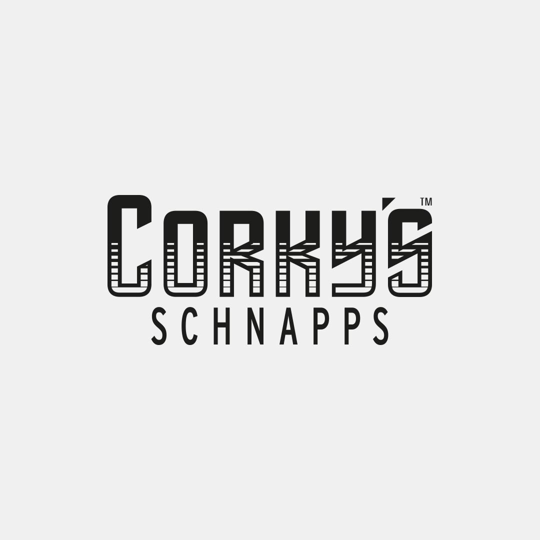 Good Time In | Corky's Schnapps Logo