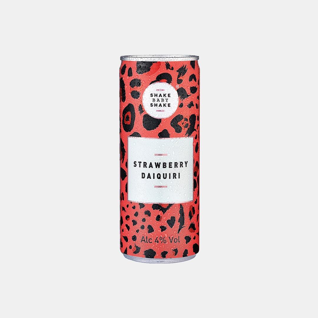 Good Time In   Shake Baby Shake - Strawberry Daiquiri 245ml