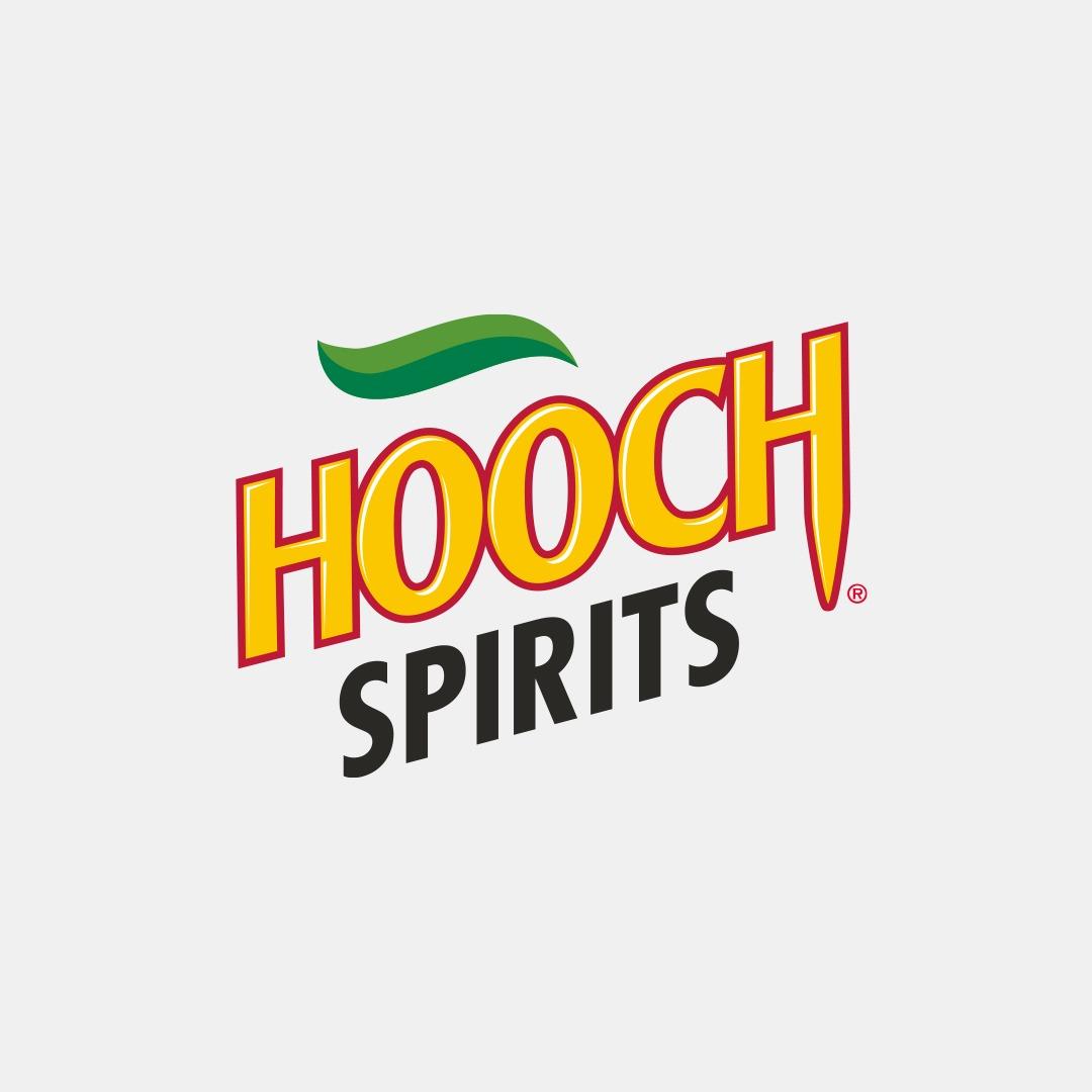 Good Time In | Hooch Spirits Logo