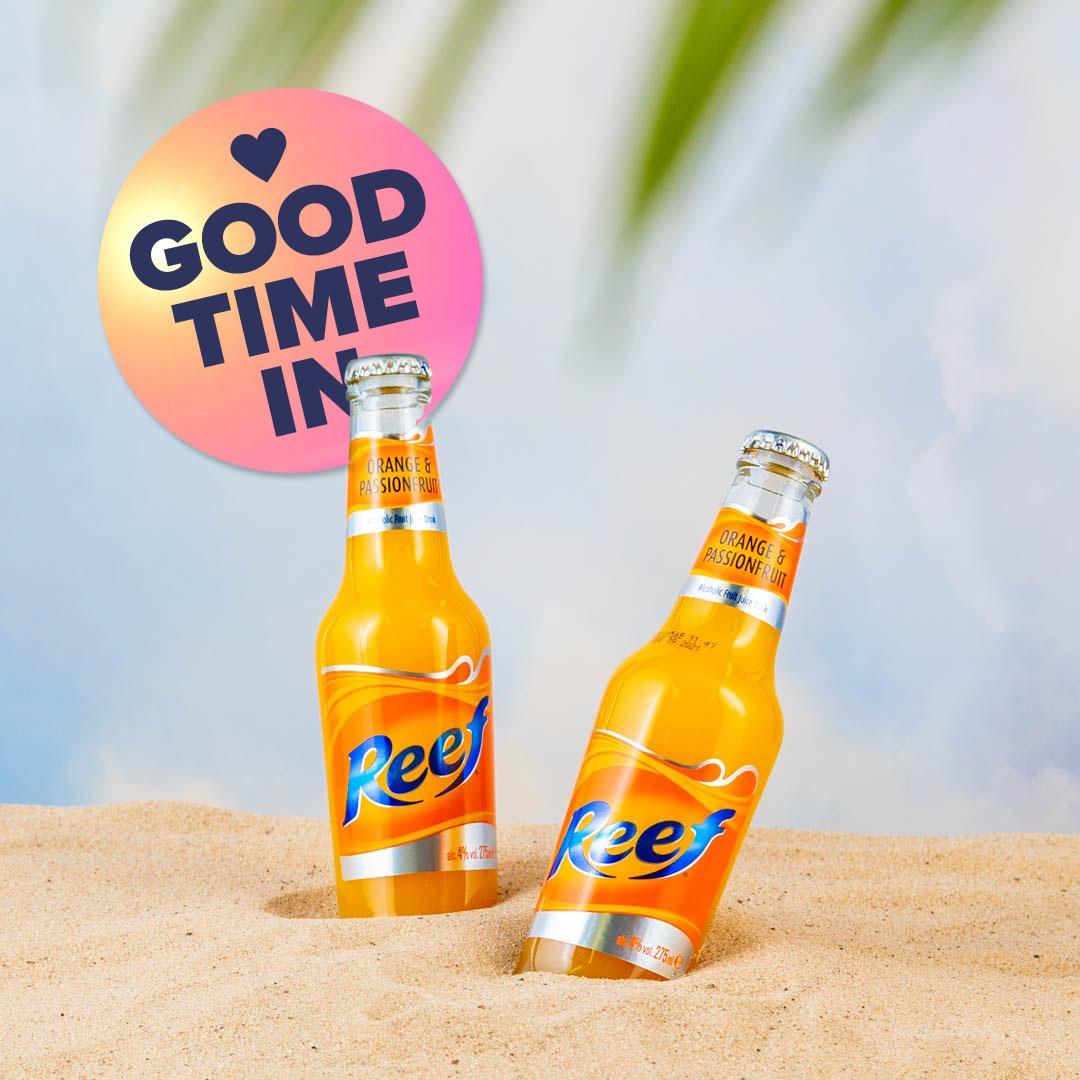 Good Time In   Reef - Orange & Passionfruit